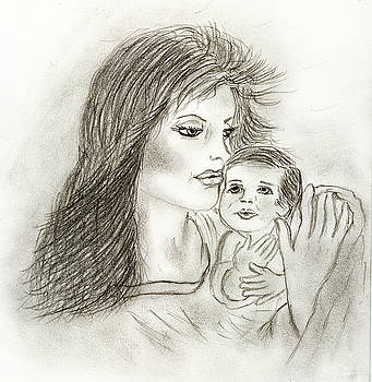 Mother and Child by Sonya Chalmers