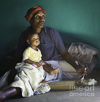 Mother and Child/South Africa by Eliza Massey