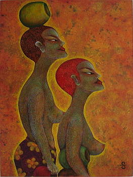 Mother and Daughter by Silvia Gold