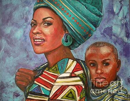 Mother and Son by Alga Washington