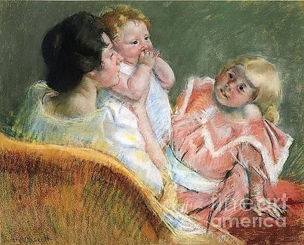 Cassatt - Mother and Two Children