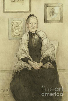 Carl Larsson - Mother