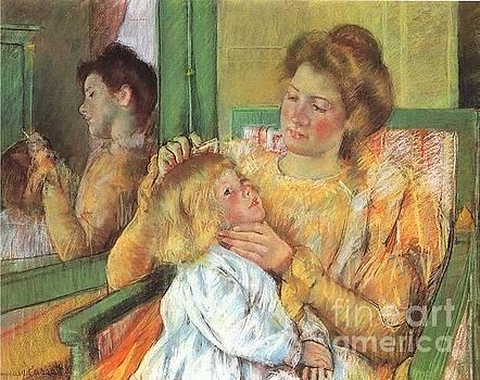 Cassatt - Mother Combing Her Child
