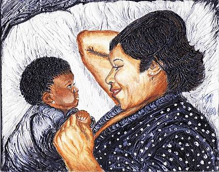 Mother  Daughter First Conversation by Keenya  Woods