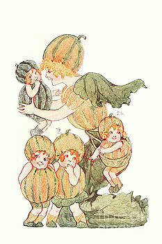 Nikki Vig - Mother Earth Children Madam Muskmelon and her Kiddos