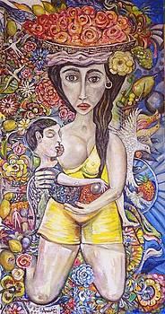 Mother Love by Amado Gonzalez