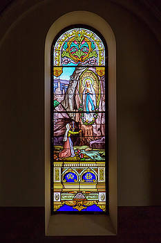 2bhappy4ever - Mother Mary on Stained Glass