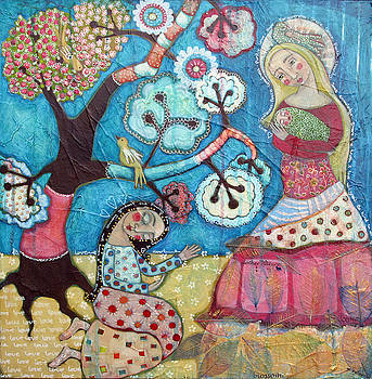 Mother Nature Baby Sweetpea and Mother to Be by Julie-ann Bowden