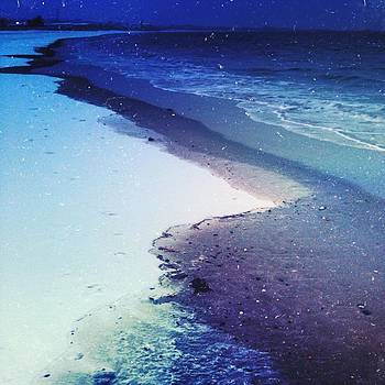 Mother Nature's A #beach. Happy First by Carly Barone