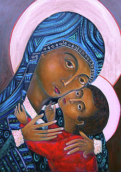 Mother of God and Child by Andrew Osta
