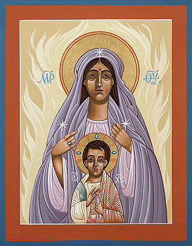Mother of God Cenacle of the New Pentecost 146 by William Hart McNichols