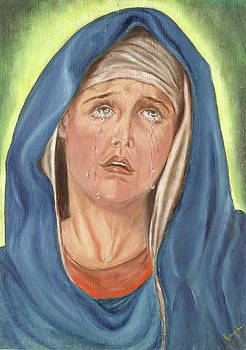 Mother of Sorrow - Mater Dolorosa by Remy Francis