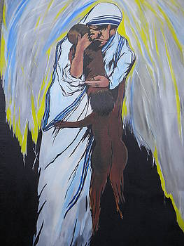 Mother Teresa by Aman Chakra
