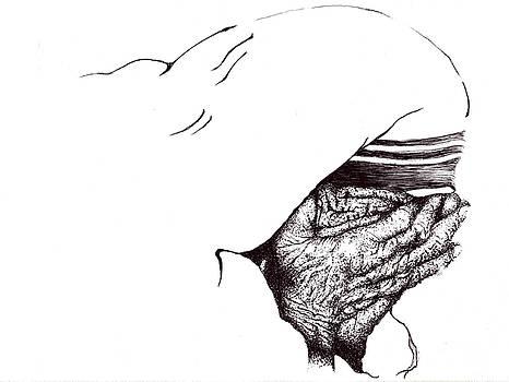 Mother Teresa-Pray today by Doug Johnson