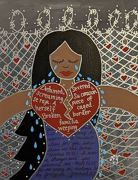 Mothers at the Border by Angela Yarber