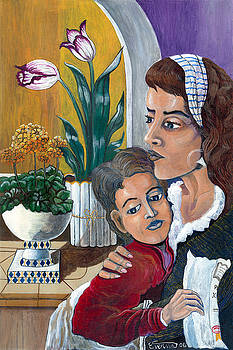 Mother's comfort by Everna Taylor