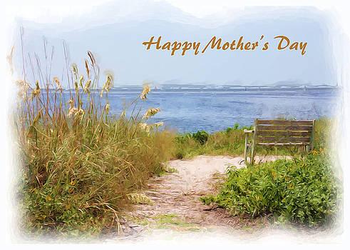 Mother's Day Beach Scene by Rosalie Scanlon