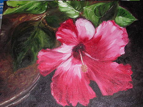 Mother's Day Hibiscus by Sheila Gunter