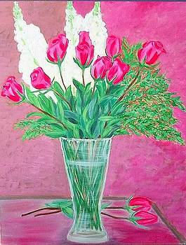 Mother's day roses by Soheila Madani
