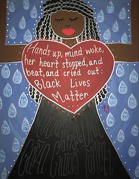 Mothers of Black Lives Matter  by Angela Yarber