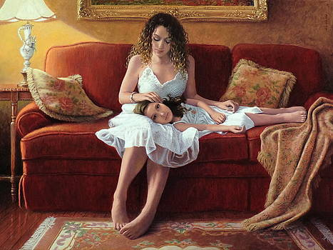 Mother's Touch by Barry DeBaun