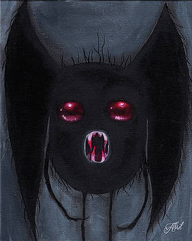 Mothman by Abril Andrade Griffith
