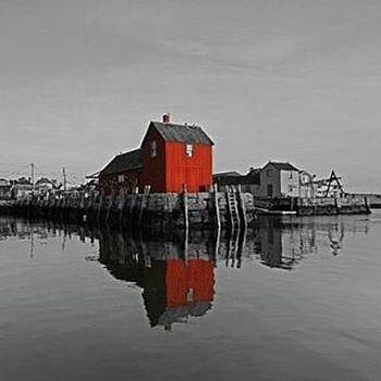 Motif #1 - Rockport, Ma by Juergen Roth