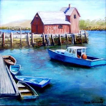 Motif One Rockport Harbor by Jack Skinner