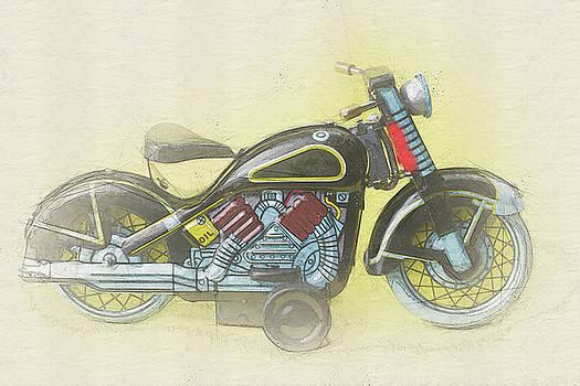 Motorbike iii by Pekka Liukkonen