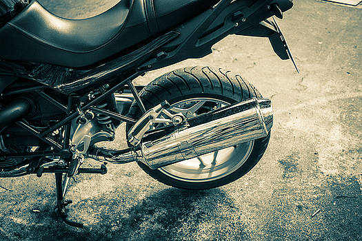 Motorbike by Mike Taylor