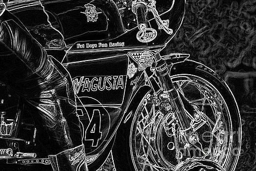 Motorcycle 1 by Alan Harman