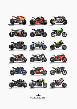 Motorcycle concepts 2017-2018 by Jakusa Design