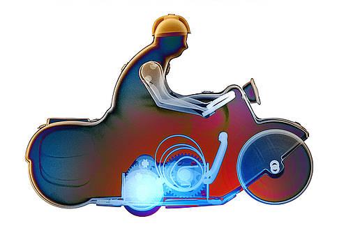 Roy Livingston - Motorcycle X-ray No. 10