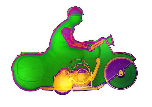Roy Livingston - Motorcycle X-ray No. 7