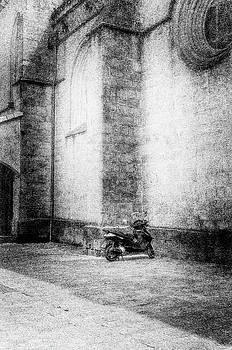 Motorcycles Also Like to Pray by Celso Bressan