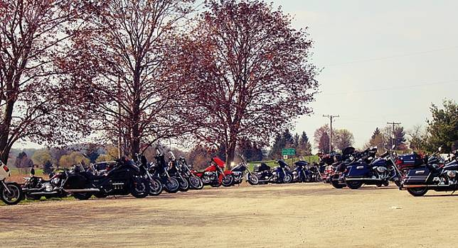 Motorcycles Everywhere by R A W M