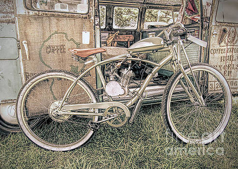 Motorized Bike by Marion Johnson