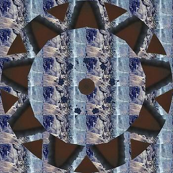 Mottled Blue by Nelma Grace Higgins