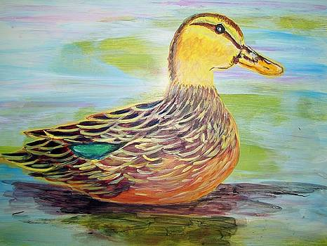 Mottled Duck by Belinda Lawson