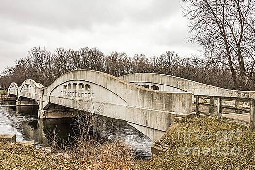Mottville Bridge on US 12 in Michigan by Sue Smith