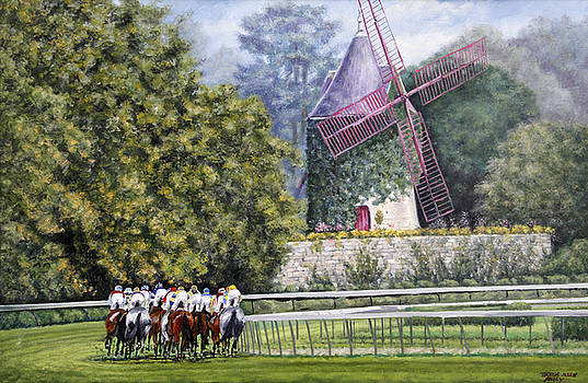 Moulin de Longchamp by Thomas Allen Pauly