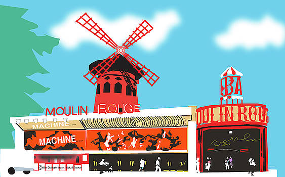 Moulin Rouge by Michael Chatman