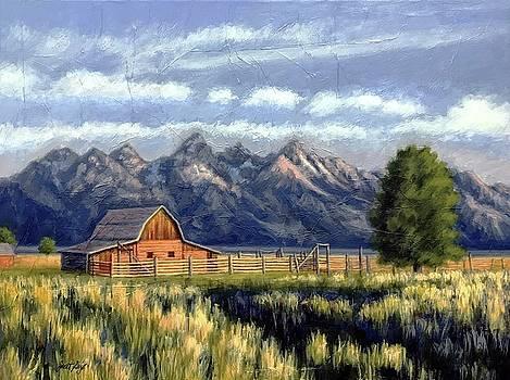 Janet King - Moulton Barn at the Grand Tetons