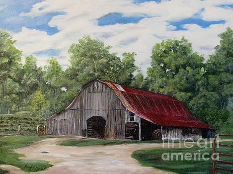 Moulton Barn by Faye Creel