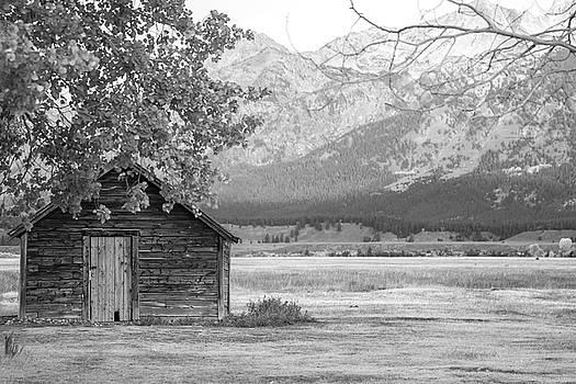 Moulton Homestead - Granary by Colleen Coccia