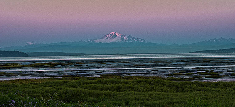 Mount Baker Summer Sunset by Rob Mclean