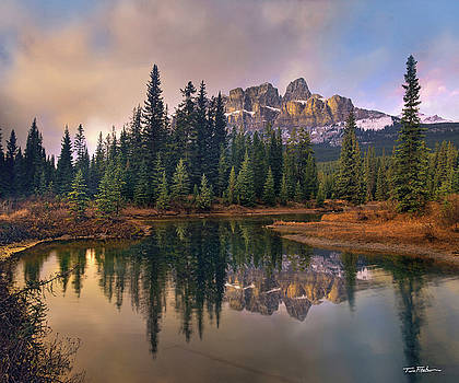Castle Mountain by Tim Fitzharris