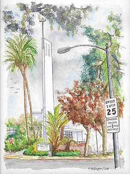 Mount Calvary Lutheran Church, Beverly Hills, California by Carlos G Groppa