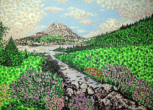 Mount Errigal by Alan J Hogan
