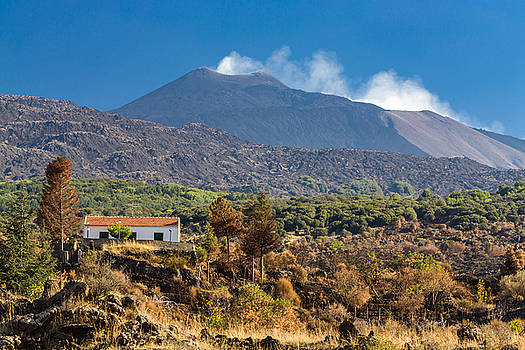 Mount Etna by Johan Elzenga